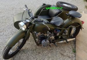 Dnepr K750 matte green (3)restaurato