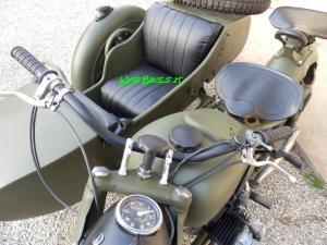 Dnepr K750 matte green (4)restaurato